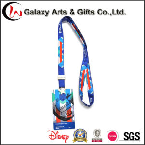 Card Holder Custom Polyester Lanyards with Printed Logo pictures & photos