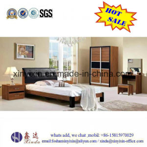 Hot Sale Wooden Bed Luxury Hotel Bedroom Furniture (702A#) pictures & photos