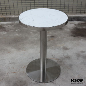Luxury Modern White Marble Bar Counter Table for Homes pictures & photos