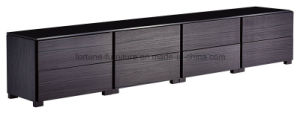 Modern Wooden Black Color Chest of 8 Drawers (N20240N)