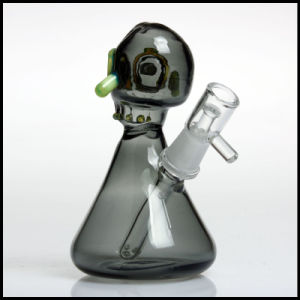 Cool Skull Oil Rig Smoking Water Pipes Heady Hookah America Color Rod Tobacco Heady Oil Rig DAB Glass Bowl Pipe pictures & photos