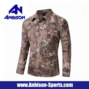Summer Quick-Dry Tactical Camo Long/Short Sleeve Shirt pictures & photos
