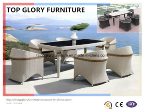 Garden Patio Wicker Rattan Dining Sets Outdoor Furniture (TG-1613) pictures & photos