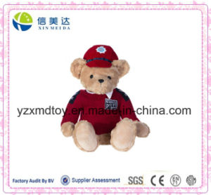 Soft Plush Royal Police Bear Toy pictures & photos