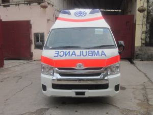 Toyota Hiace Super High Roof 3.0L Diesel Ambulance (Luxury Version) pictures & photos