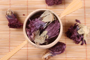 Purple Flower Tea Dried Violet Flowering Herbal Tea pictures & photos