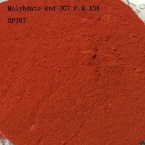 Plastic and Rubber Used Molybdate Red 307 pictures & photos