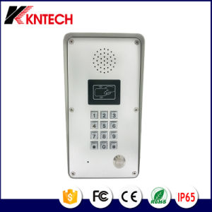 Waterproof Outdoor Door Phone SIP System Access Control Knzd-51 Kntech pictures & photos