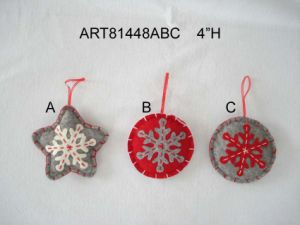 Christmas Mouse Decoration Gift Carry with Baby-2asst- pictures & photos