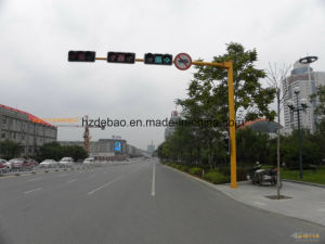 Q235 Galvanized Traffic Signal Steel Pole