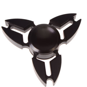 Tri-Spinner Alloy Crab Fidget Toy Black Spinner Alloy Wheels pictures & photos