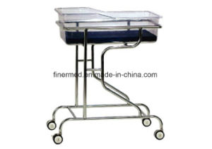 Hospital Stainless Steel Baby Carriage pictures & photos