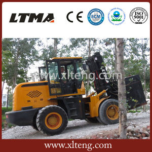 10 Ton Rough Terrain Forklift Price for Sale pictures & photos