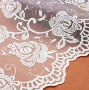 China Bridal Lace Fabric Wholesale in Guangzhou Lace pictures & photos