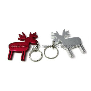 Deer Shaped Aluminum Bottle Opener pictures & photos