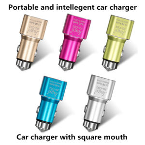 Lights Portable Multi Port USB Car Charger for iPhone 6s