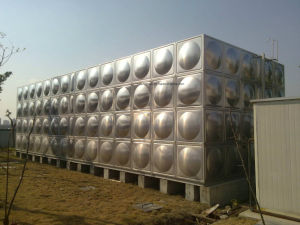 Hot Selling Stainless Steel Panel Water Tank pictures & photos