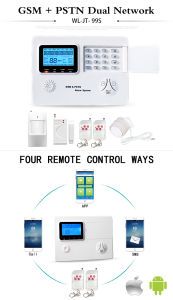 Wireless GSM+PSTN Alarm System Panel with Press Button pictures & photos