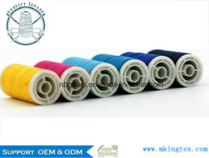 Competitive Price New Arrival Poly Small Cone Polyester Sewing Thread pictures & photos