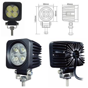 12W for Vehicle Car Truck Offroad Auto LED Work Light Lamp pictures & photos