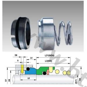 O-Ring Mechanical Seals (M3N) pictures & photos