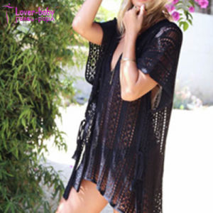Summer Fashion Sexy Knitted Cover-UPS L38451 pictures & photos