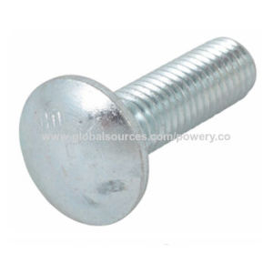 HDG Carriage Bolt with Square Shoulder and Square Nut pictures & photos