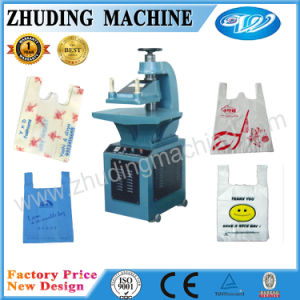 Manual W Cut PP Woven Non Woven Handle Punching Machine pictures & photos