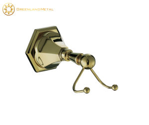 bathroom Brass Wall Mounted Gold Towel Hook pictures & photos