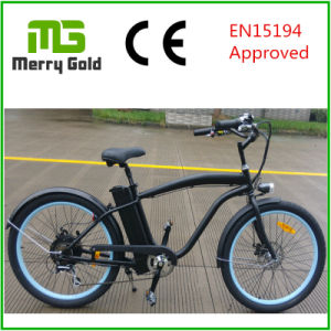 Shimano 7-Speed (Tourney) Derailleur Ebike Classic Cruiser 36V 250W Electric Bike pictures & photos