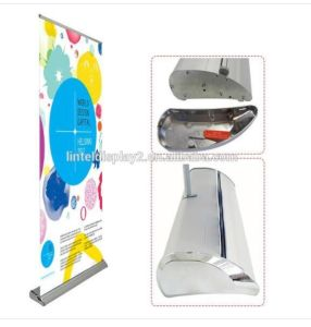 Luxury Durable Exhibition Aluminum Roll up Banner Display pictures & photos