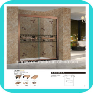 2016 New Design Stainless Steel Frame Shower Enclosure (A-802-4) pictures & photos