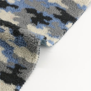 75%Polyester 25%Acrylic of Printed Multi Color Woolen Fabric pictures & photos