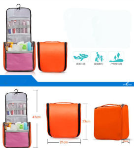 Promotion Beauty Travel Cosmetic Toilet Bathroom Case Organiser Handbag pictures & photos