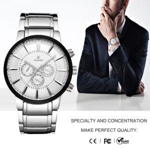 Chronograph Luxury Steel Man Watches Analog Quartz Bracelet Watch72365 pictures & photos