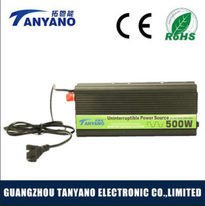 500W Power Inverter UPS with Battery Charger pictures & photos
