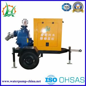 Soundproof Diesel Engine Self-Priming Centrifugal Sewage Pump pictures & photos