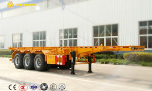 Sinotruk 40FT Container Transportsemi-Trailer for Sale pictures & photos
