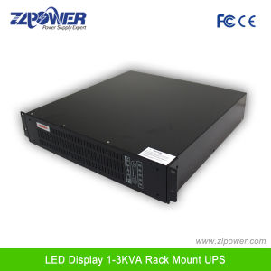 Ture Pure Sine Wave High Frequency Online UPS Rack Mount LCD Display pictures & photos