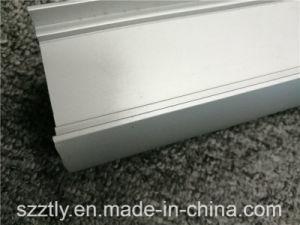 6000 Sand Blasted Anodised Aluminium/Aluminum Extrusion Alloy Profile for LED Frame pictures & photos