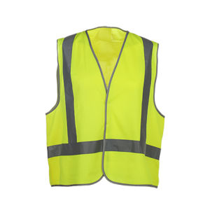 Wholesale High Visibility Reflective Workwear Safety Vest pictures & photos