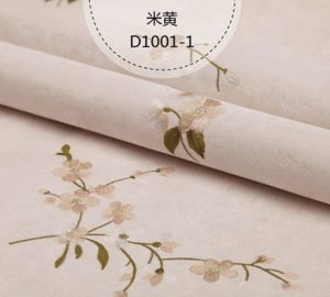 Seamless Wallpaper Fabric Embossing Classic Style