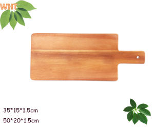 "13""Acacia Wood Cutting Board Kitchen Wood Cutting Board pictures & photos"