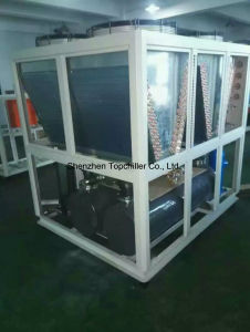 120-180HP Cooling Capacity Air Cooled Water Chiller in Plastic Factory pictures & photos