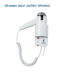Wall-Mounted Hair Dryer for Hotel Room (67410B) pictures & photos