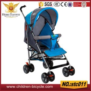 New Year Outdoor Kids Safety Seat Four Wheels Handlebar Baby Strollers 4 In1 for Wholesale pictures & photos