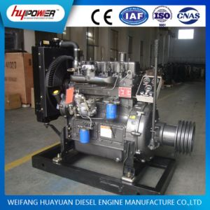 Turbocharged 60HP 1800rpm 4 Cylinder K4100zg Engine with Clutch and Pulley pictures & photos