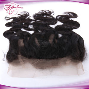 Natural Body Wave Weave Virgin Hair Human Hair 360 Frontal pictures & photos