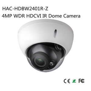 4MP WDR Hdcvi IR Dome Camera (HAC-HDBW2401R-Z) pictures & photos