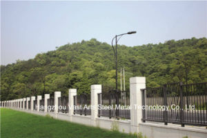 Haohan Customized High-Quality Classic Residential Industrial Galvanized Steel Fence 72 pictures & photos